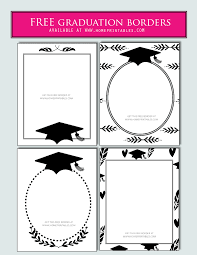Dtp Border Designs 15 Free Graduation Borders With 5 New Designs Home