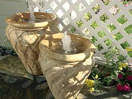 diy small water feature ideas. bubbling containers diy small water feature ideas e