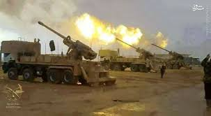 Image result for آتش سنگین ارتش سوریه بر سر تکفیریها