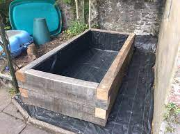 raised bed filling and growing bbc