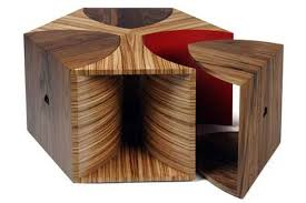 wooden coffee tables. escher coffee table by toby howes wooden tables