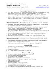 Plant Operator Resume Objective Elegant Job Sample Resume Bongdaao Com