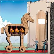 Resultado de imagen de caballo troya