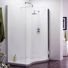 Curved Shower Enclosures Uk Aegean Walkin Enclosure Inside Design