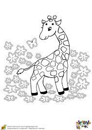 Coloriage Bebe Girafe Hugolescargot Com L