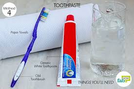 leather car seats toothpaste method generic white toothpaste stain remover and deodorizing agent