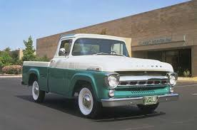 Very rare 1957 Mercury pickup (A ford with lock washers) | Classic ...