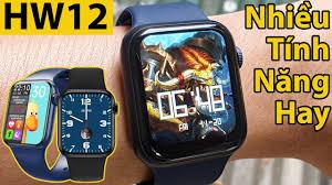 Đánh giá Nhanh HW12 Ngon Bổ Rẻ   Apple Watch Fake Đồng Hồ Thông Minh  Smartwatch Giá Rẻ Trên Shopee - YouTube