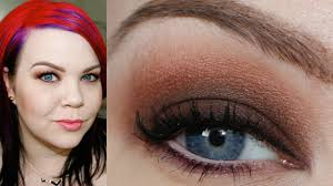 warm summer smoky eye makeup tutorial it cosmetics naturally pretty palette beauty you