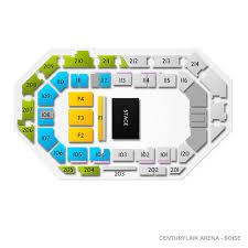 Centurylink Arena Boise 2019 Seating Chart