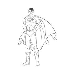 The films like superman returns and man of steel. Free 9 Superman Coloring Pages In Ai