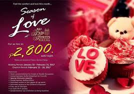 valentine hotel deals in manila
