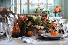 Thanksgiving DIY} How to make your own Thanksgiving Centerpiece ...