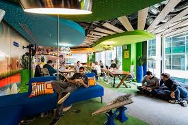 google office spaces. Camenzind Evolution\u0027s Google Office Flourishes In Dublin Spaces 2