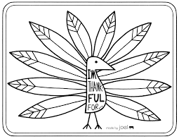 I Am Thankful For Coloring Page Thankful Coloring Pages Printable