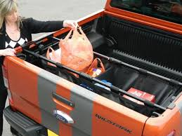 pick up truck bed tidy trux branded pickup accessory new ford ranger 2016 on