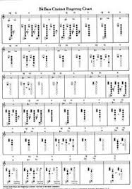 Printable Clarinet Finger Chart Free Bb Clarinet Finger Chart Google Search In 2019