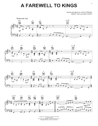 Download and print in pdf or midi free sheet music for rush e by sheet music boss arranged by 775234 for piano (solo). Rush A Farewell To Kings Sheet Music Pdf Notes Chords Rock Score Piano Vocal Guitar Right Hand Melody Download Printable Sku 444056