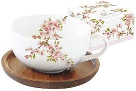 """<b>Чайная пара Easy Life</b> """"Японская сакура"""", цвет: розовый, 250 мл ..."""