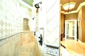 showers without doors bathroom walk in shower door traditional with glass cleaning menards