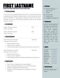 Free Resume Template Microsoft Word Extraordinary Free Resume Templates Microsoft Word Cteamco