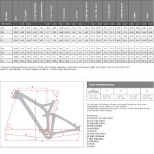 Niner Size Chart Niner Frame Size Chart Oceanfur23 Com