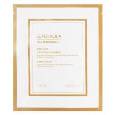 <b>MISSHA Super Aqua Cell</b> Renew Snail Gel Mask - www.mimiko.lv