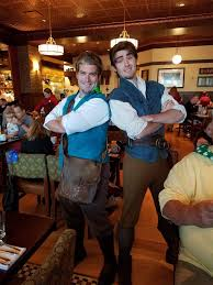 photofinally got to meet flynn rider thanks to the bon voyage breakfast i m only a little excited