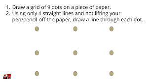 I tried drawing and could only draw 1 line and even that wasnt in the same width as my screen. Draw A Grid Of 9 Dots On A Piece Of Paper Ppt Download