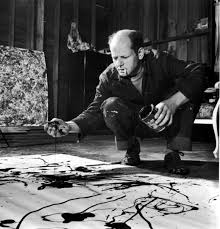here s looking at blue poles by jackson pollock start your eyes