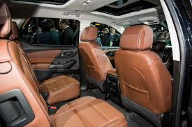 2018 chevrolet high country colors. beautiful high 2018 chevrolet traverse high country interior live reveal 006 intended chevrolet high country colors h