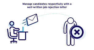 Resume Rejection Letter Job Rejection Letter Sample For Unsuccessful Candidates