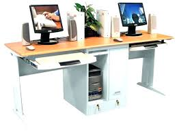 office desk for two people. Fine People Office Desk For Two People Person Home Computer  Throughout Office Desk For Two People