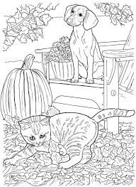 Creative Haven Loveable Cats Dogs Coloring Book Free Printable