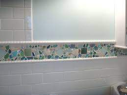 ideas for kitchen dining astounding kitchen and bathroom decoration with beach glass tile backsplash interactive kitchen and bathroom wall