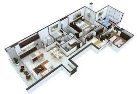 3 Bedroom Open Floor House Plans Creative Design New Decorating Design