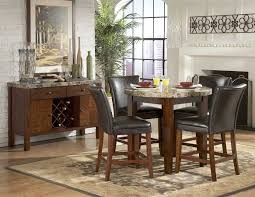 Marble Top Kitchen Table Set Brilliant Decoration Round Marble Top Dining Table Astounding