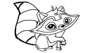 Raccoon Coloring Pages To Print Lifewiththepepperscom