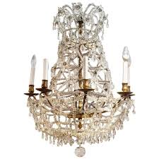 antique austrian rock crystal chandelier main