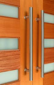 The Apollo Front Door Pull Handle Is Made From Stainless Steel