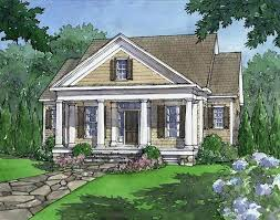 country living house plans. Cottage Living Home Plans Southern Country House . V