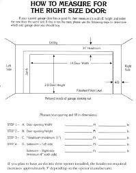 Measuring A Garage Door Sicepat