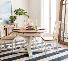 The farmhouse table goes cozy in this round version. The 8 Best Farmhouse Dining Tables Of 2021