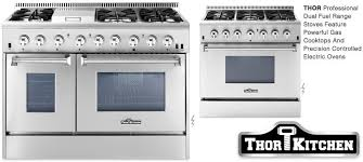 professional gas ranges for the home. Delighful Home Thor Kitchen Dual Fuel Professional Home Ranges Inside Gas For The O