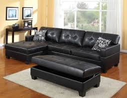 black leather couch. Black Leather Couch With Pillows