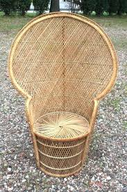 big wicker chair vintage s pea fan high back rattan wicker chair large giant wicker furniture big wicker chair