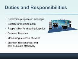 Duties Of An Event Planner The Role Of The Corporate Event Planner Mary Julia Smith
