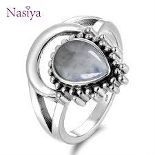 Nasiya Newest Luxury Oval <b>Natural Moonstone</b> Rings For Men ...