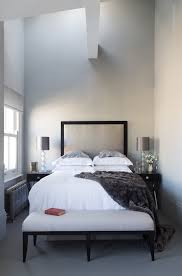 mark feehily collaboration inspiration for a contemporary bedroom remodel in london with gray walls bedroom chairs for small spaces bedroom chairs small spaces office