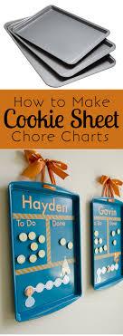 Craftaholics Anonymous Diy Cookie Sheet Chore Charts